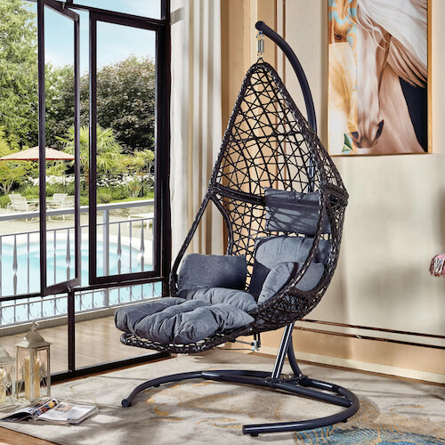 Rhiannon Swing Chair with Stand