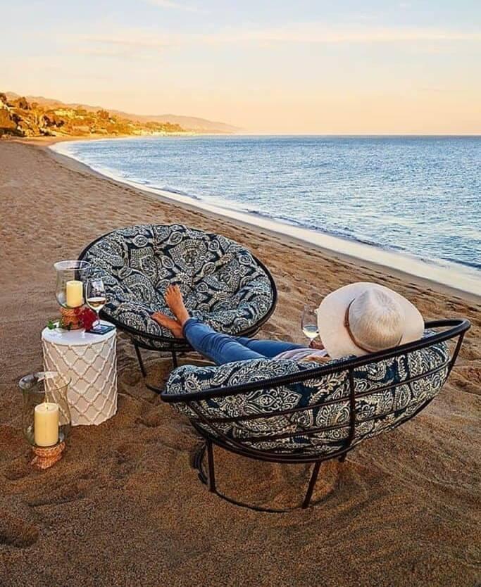 The Beachside Papasan