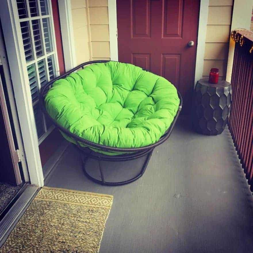 The Lush Green Papasan