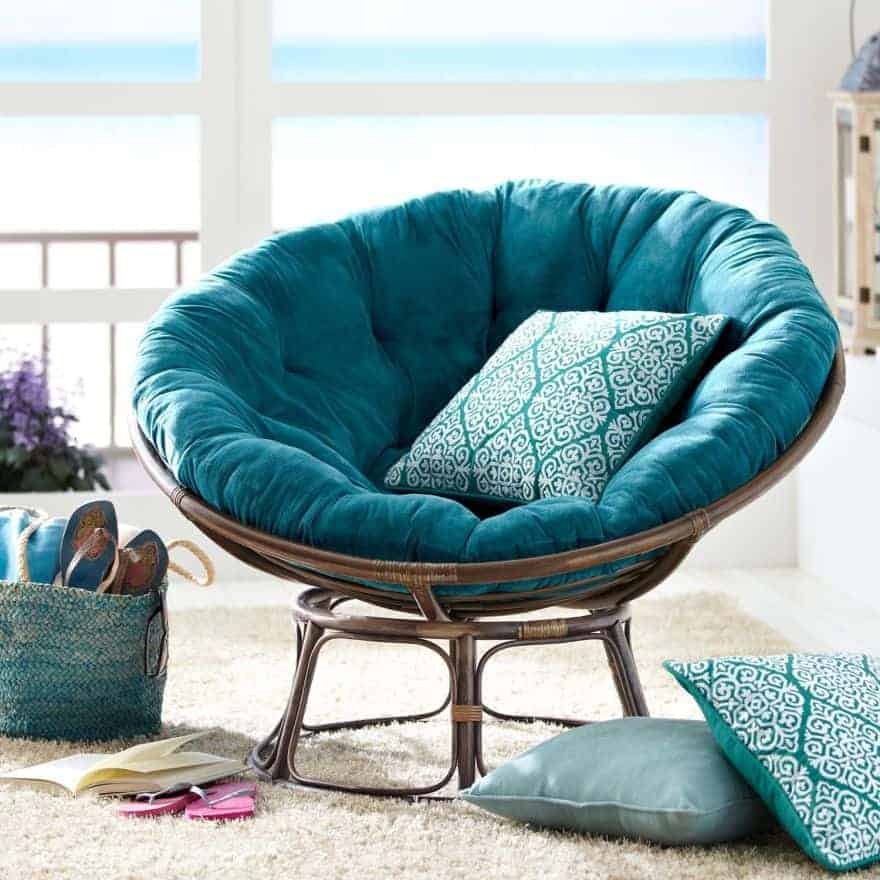 The Turquoise Papasan